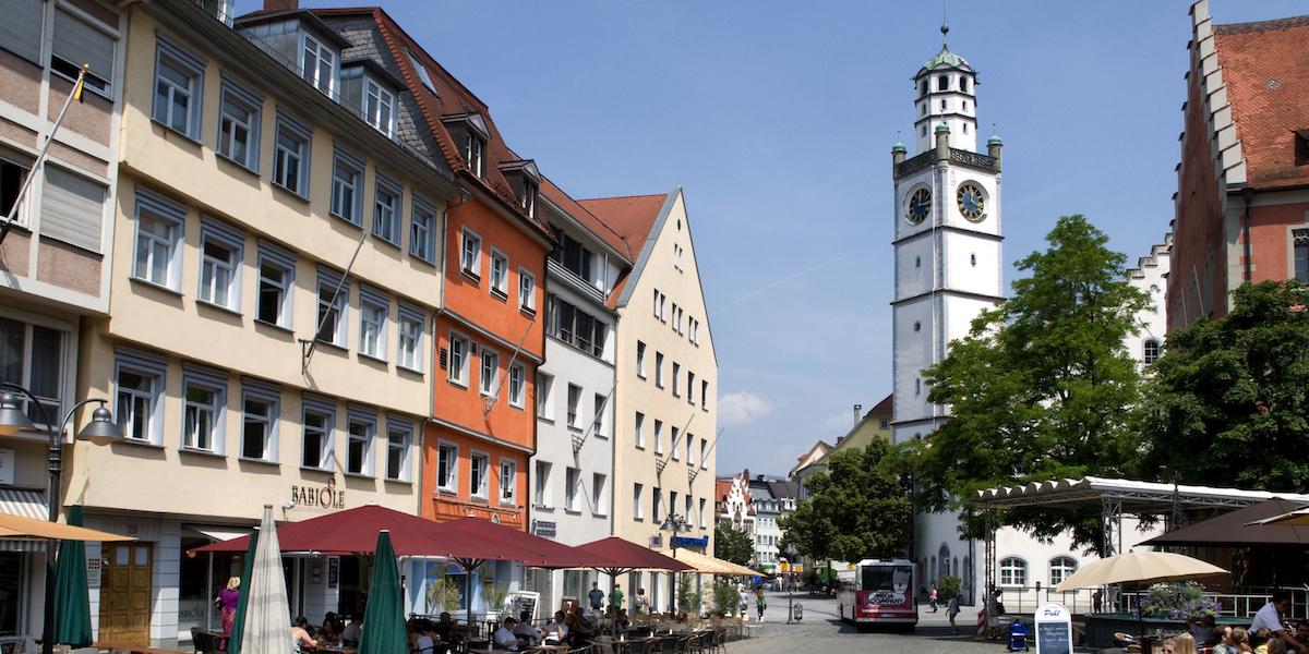 Rechtsanwaltskanzlei Schmidt und Liebermann in Ravensburg am Marktplatz